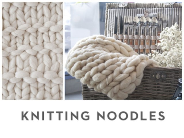 Knitting Noodles