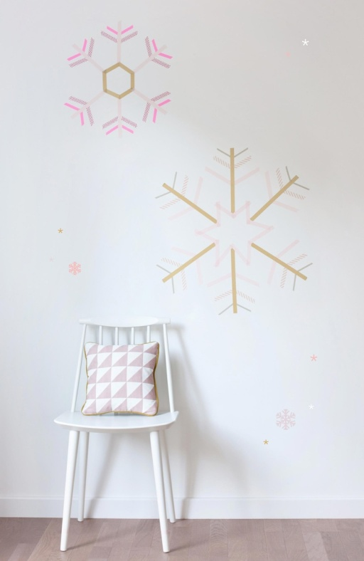 washi tape walls